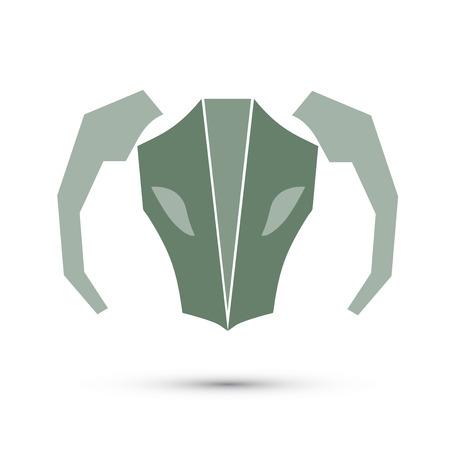 future twin: Illustration vector of zodiac, Aries Illustration