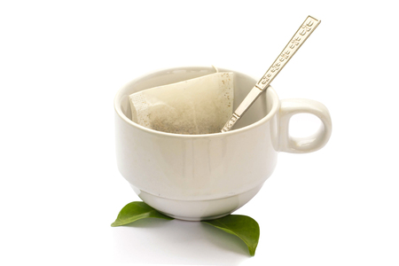 Tea isolate on a white background