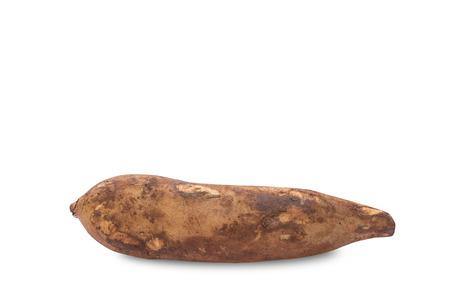 yacon: Yacon fruit isolate on white background