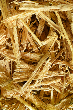 pile of wood sawdust for background