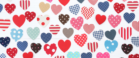 Valentine concept for background