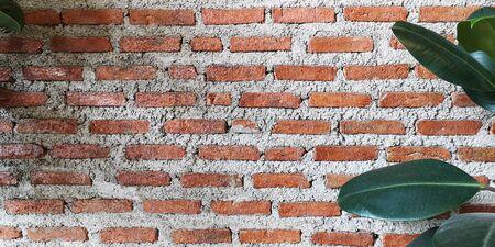 Texture of the brick walls