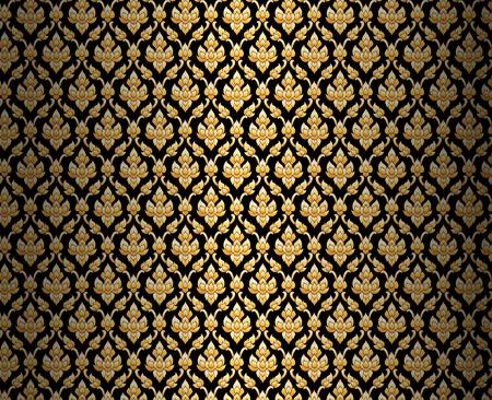 thailand silk: thai pattern background
