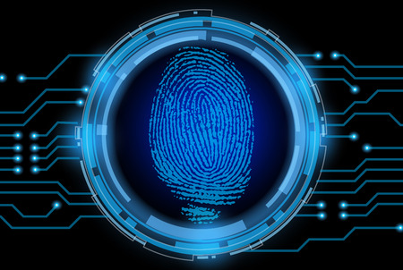 theft proof: vector finger print on electronic circuit