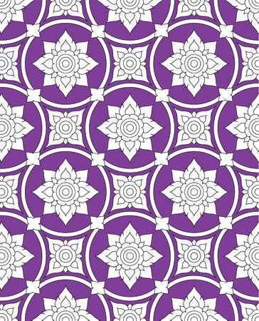 thai silk: thai pattern background