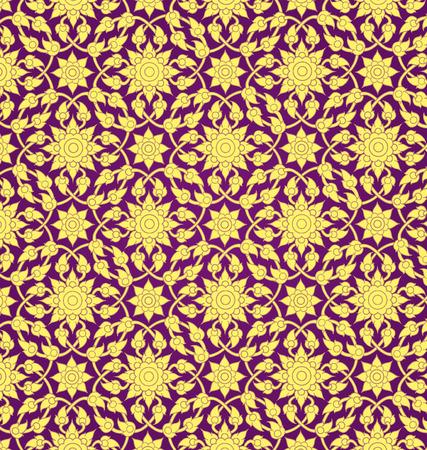 Thai motif de fond Banque d'images - 31995948