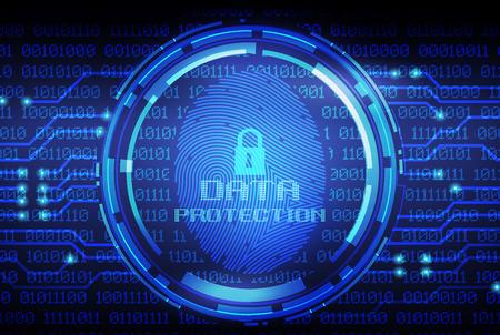 보안 개념 : 디지털 화면에 지문 및 데이터 보호