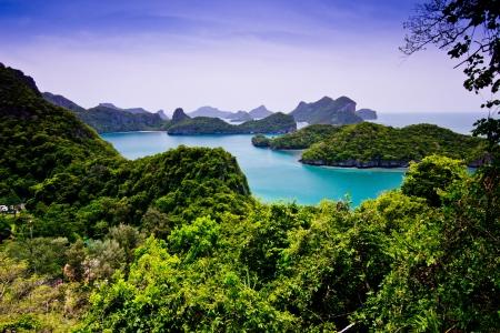 Mu Ko Ang Thong Nationalpark samui thailand Lizenzfreie Bilder