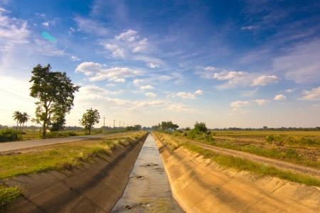 sluice: Irrigation Canal