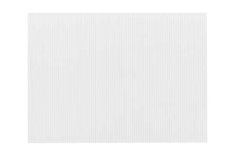 White corrugated cardboard texture