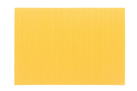 cushioned: Yellow corrugated cardboard texture Stock Photo