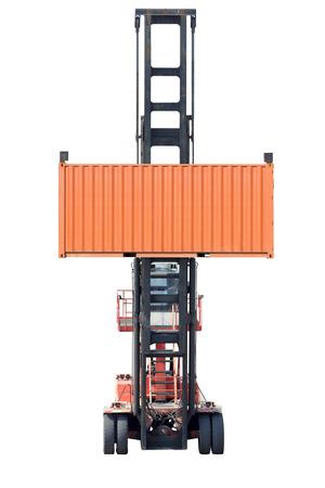 Leere Container isoliert auf weißem Hintergrund mit Clipping-Pfad Standard-Bild - 69127422
