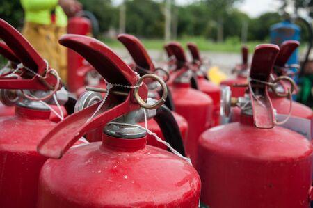 fire extinguishers: Fire extinguishers