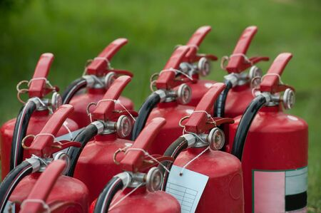extinguishers: Fire extinguishers