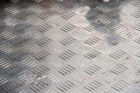 diamond plate: Used metal diamond plate as background