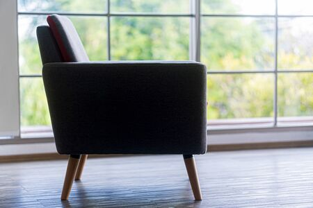 The modern chair in the living room Stockfoto