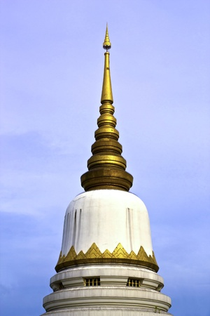 White Pagoda from Prasrimahathad temple in bangkok, Thailand. photo
