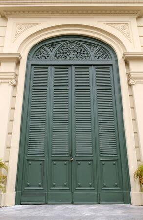 Door at Grand Palace in Bangkok, Thailand.