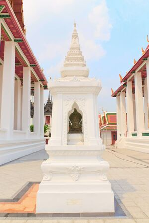 in thai call Sema it's mean to temple area. Stock Photo - 13487980