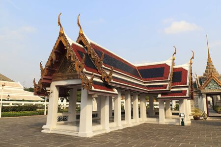 Pavilion for relaxing in the Wat Phra Kaew.