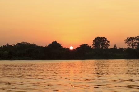 Beautiful river kwai and resort in Kanchanaburi province, Thailand  photo