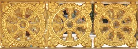 dhamma: Dhammajak, wheel of Dhamma, Dhamma is Buddha