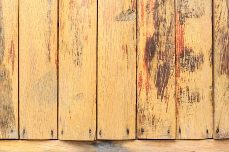 A wooden wall texture for background image. photo