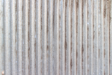 Texture background of old zinc plate with dirt stain on surface. Stock Photo