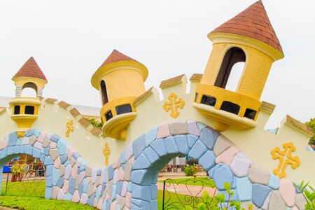 The walls of the big theme parks.