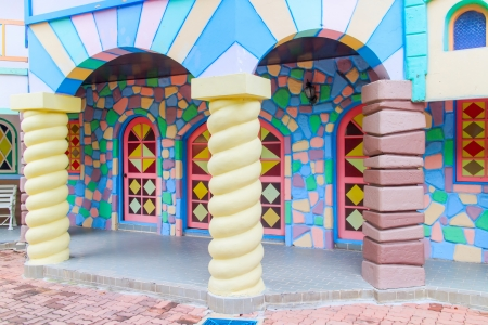 House of Fun in the big theme parks. photo