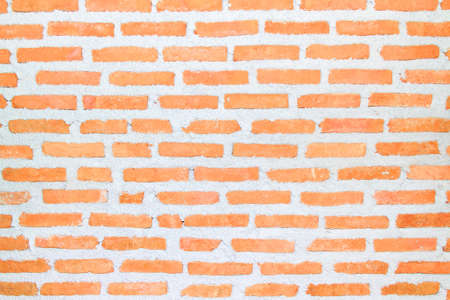 Detail of the brick walls of the old.