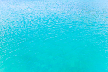 Is this the open tropical sea beautiful.