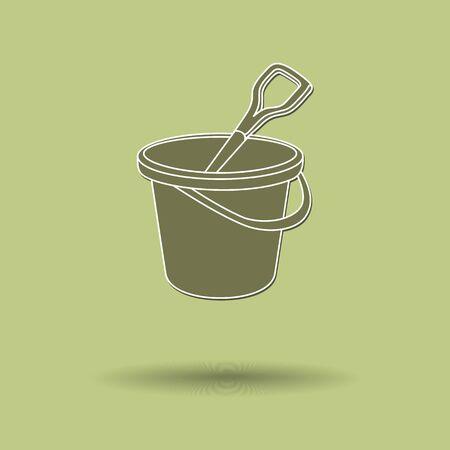 tin: Vector illustration of  Tin color background. Illustration