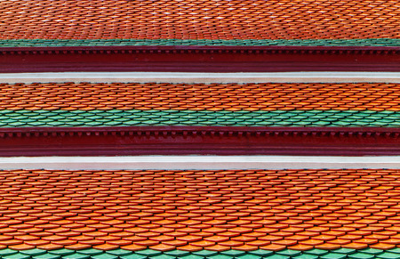 Thai temple roof Фото со стока