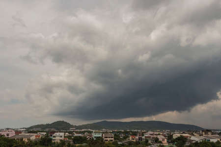 convective: Variable clouds sky