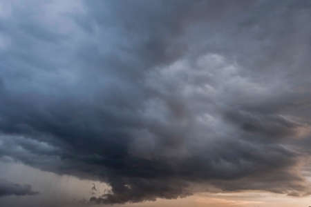 convective: Storm clouds sky Stock Photo