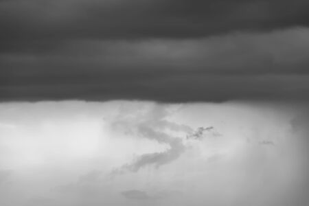convective: Cloudy skies and white background