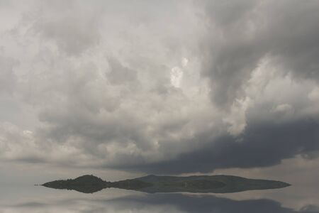 variance: Partly cloudy variance Stock Photo
