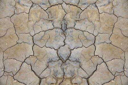 degradation: Land degradation separate natural background pattern Stock Photo