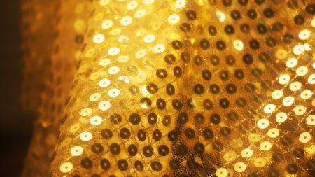 tissu or: floue fond de drap d'or floue rideaux de luxe d'or