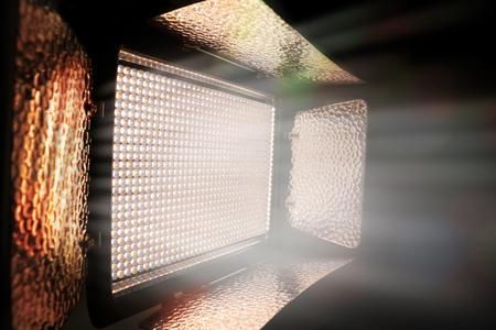 led lighting: Video Lighting Led Stock Photo