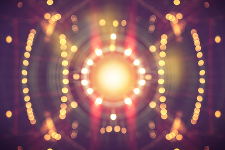 blurred colorful bokeh with glittering shine lights background
