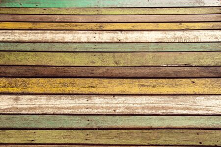 old colour wood for floor or table, background for vintage wallpaper