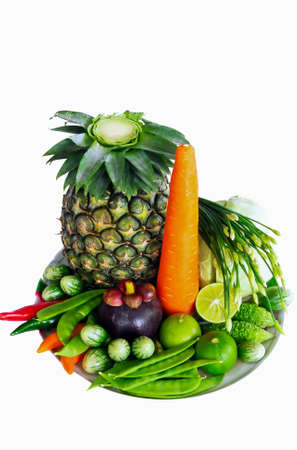 Include fresh fruits and vegetables.