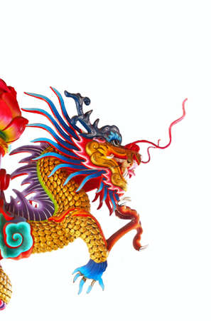 Chinese style dragon statue Stock Photo - 10086750