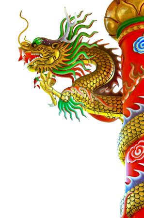 Chinois statue de dragon de style Banque d'images