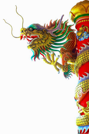 Chinese style dragon statue Stock Photo - 10086751
