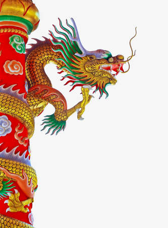 Chinese style dragon statue Stock Photo - 10086753