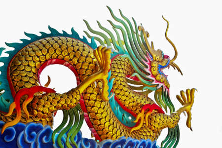 Chinese style dragon statue Stock Photo - 10086763