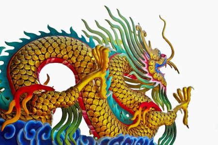 De style chinois de dragon statue
